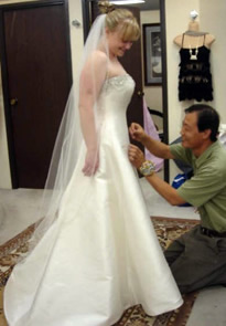 wedding alterations